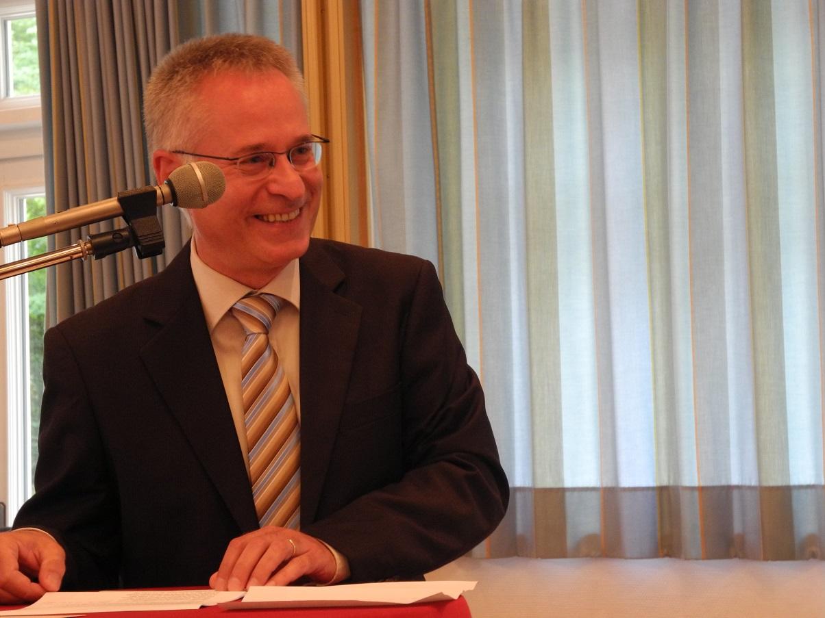 Pastor Bernd Wahlmann