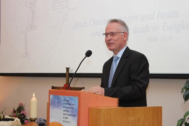 Gemeinschaftspastor Bernd Wahlmann